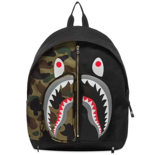 Bape 1st Camo Shark Daypack