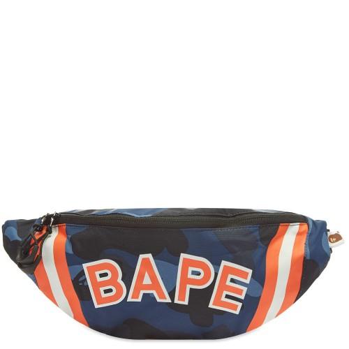 Bape Colour Camo Waist Bag