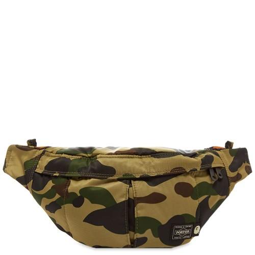 Bape x Porter-Yoshida & Co. 1st Camo Waist Bag