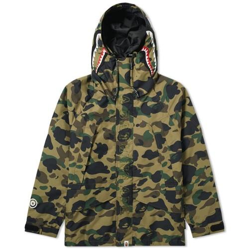 Bape 1st Camo Shark Snowboard Jacket