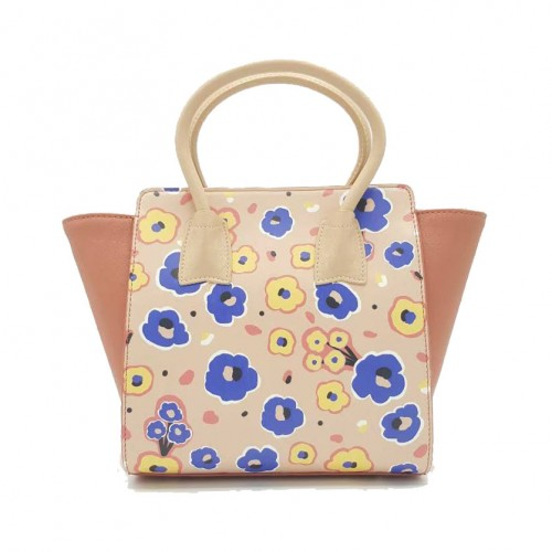 Merimies Little Floral Collection Cornflower Pink Bag