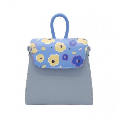 Merimies Little Floral Collection Daisy Blue Bag