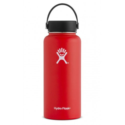 32 oz Hydro Flask Wide Mouth Lava