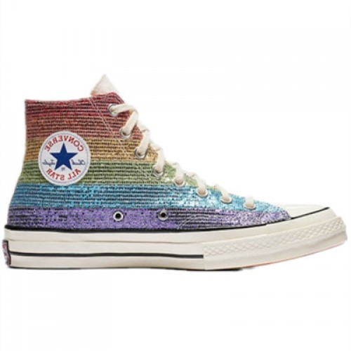 Chuck Taylor All-Star 70s High Miley Cyrus Canverse Pride Shoes