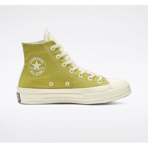 Chuck 70 Renew Canvas High Top Recycled Materials Shoes