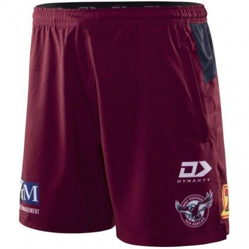 Manly Warringah Sea Eagles 2020 Men's Gym Shorts