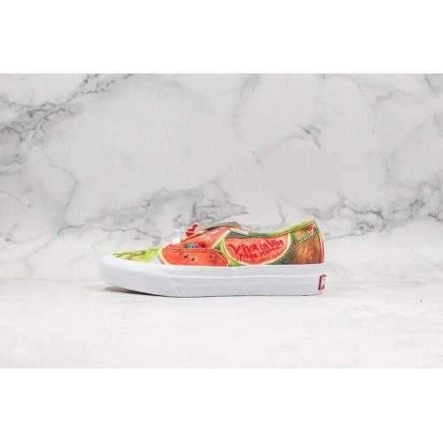 VANS x Frida Kahlo OG Authentic LX Watermelon Women Shoes