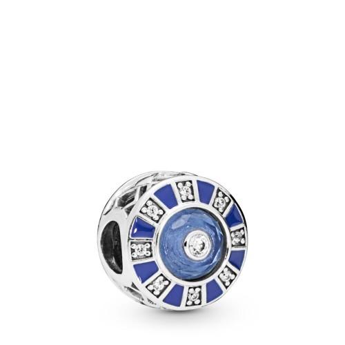 Blue Mosaic Pandora Moments Charm