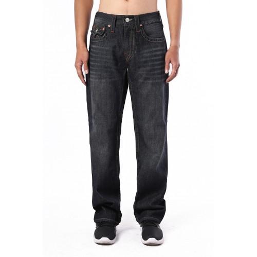 True Religion Mens Jeans All Black