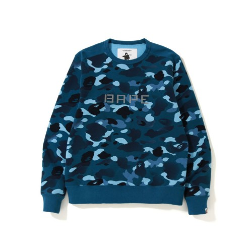 Bape Gradation Camo Wide sweatshirt Dark Blue