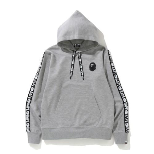 Bape Bape Double Knit hoodie Light Grey