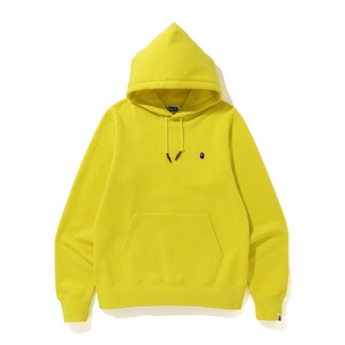 Bape One Point hoodie Yellow
