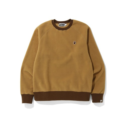 Bape Fleece one point sweatshirt Beige