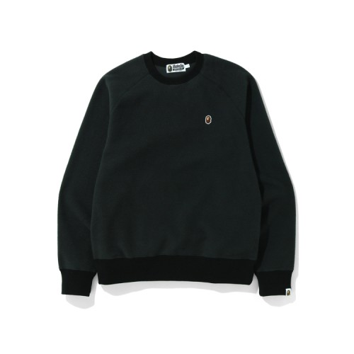 Bape Fleece one point sweatshirt Black