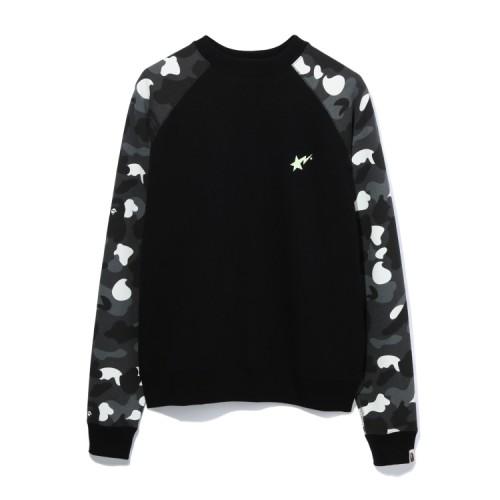 Bape City Camo Bapesta sweatshirt Black
