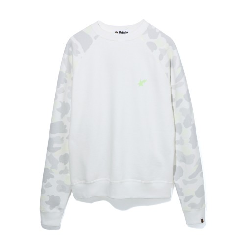 Bape City Camo Bapesta sweatshirt White