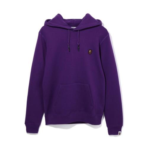 Bape One point hoodie Purple