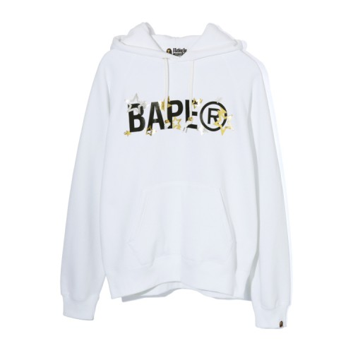 Bape Bape Sta hoodie White