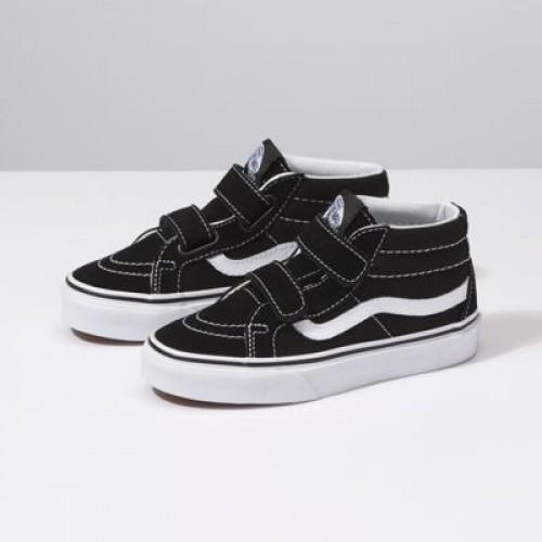Vans Kids Shoes Kids Sk8-Mid Reissue V black/true white