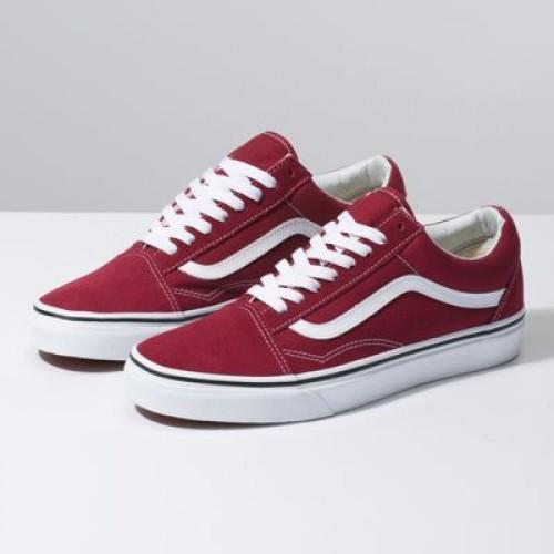 Vans Women Shoes Old Skool Rumba Red/Off White