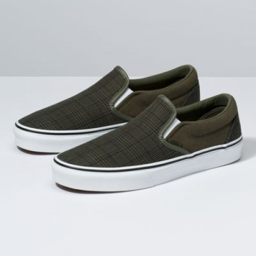 Vans Men Shoes Suiting Slip-On Grape Leaf/True White