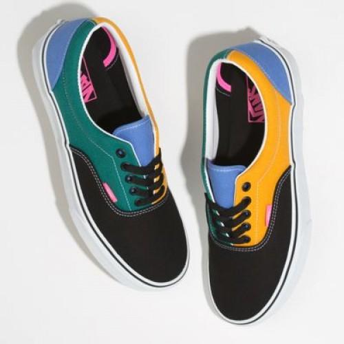 Vans Men Shoes Mix & Match Era Cadmium Yellow/Tidepool