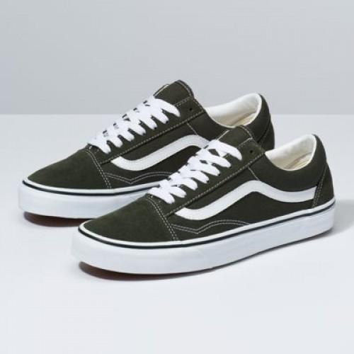 Vans Men Shoes Old Skool Forest Night/True White