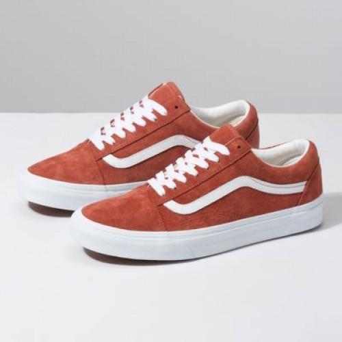Vans Women Shoes Pig Suede Old Skool