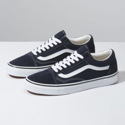 Vans Women Shoes Old Skool Night Sky/True White