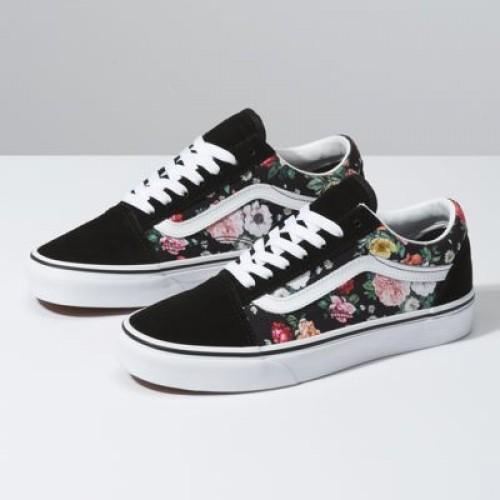 Vans Women Shoes Garden Floral Old