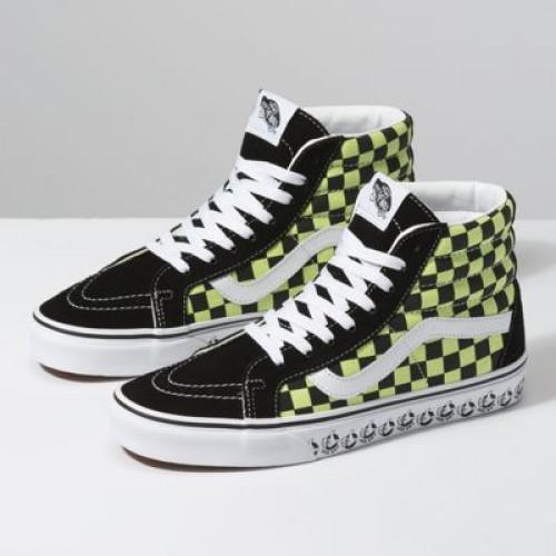 Vans Women Shoes Vans BMX Sk8-Hi Reissue Black/Sharp Green