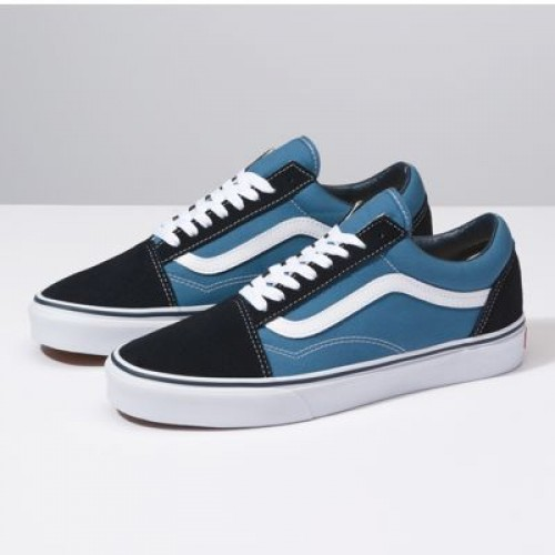Vans Women Shoes Old Skool Navy/White