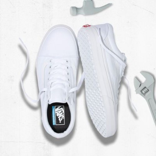 Vans Women Shoes Made For The Makers Old Skool UC True White