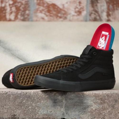 Vans Men Shoes Sk8-Hi Pro blackout