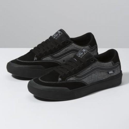 Vans Men Shoes Croc Berle Pro Black/Pewter
