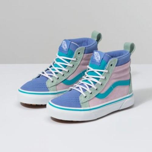Vans Kids Shoes Kids Sk8-Hi MTE Lilac Snow/Ultramarine
