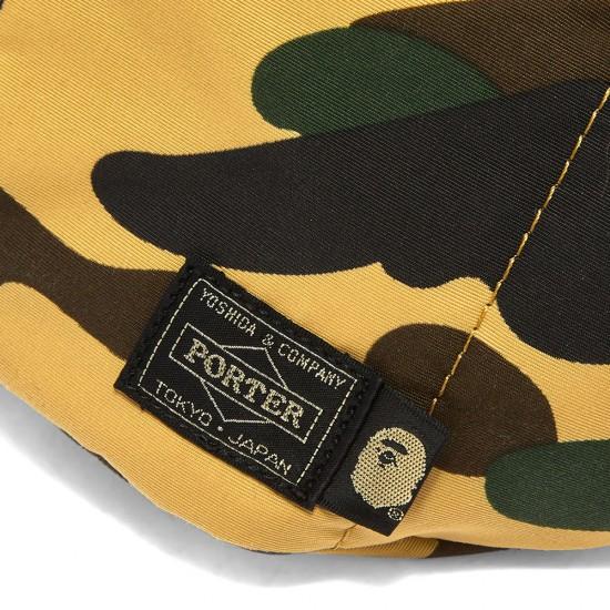 Bape x Porter 1st Camo Waist Bag