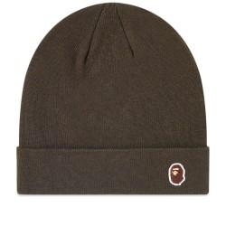Bape One Point Ape Head Knit Cap