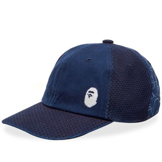 Bape Indigo Cap