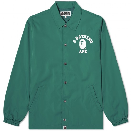 Bape College Coach Jacket