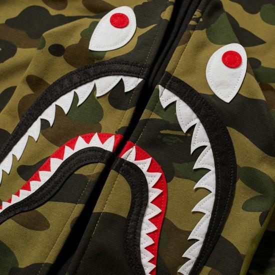 Bape 1st Camo Shark Windbreaker