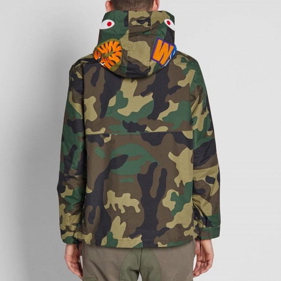 Bape Pullover Shark Hooded Jacket