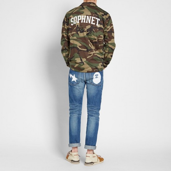 Bape 2008 Type-05 Washed Denim Pant