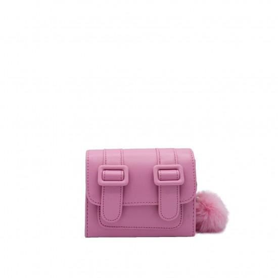 Merimies Belt Belt Mini Lemonade Pink Bag