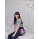 Merimies Black Pink Black Carbon Bag