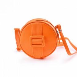 Merimies Fluorescent Round Bag Neon Orange Bag
