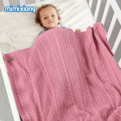 Mimixiong Baby Knitted Blankets 82W718