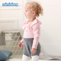 Mimixiong Baby Knitted Romper 82W263