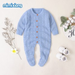 Mimixiong Baby Knitted Romper 82W353