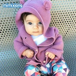 Mimixiong Baby Knitted Coat 82W443